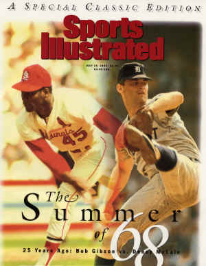 Sports Illustrated - 7/19/1993 - Bob Gibson