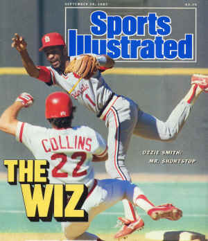 Sports Ilustrated - 9/28/1987 -- Ozzie Smith