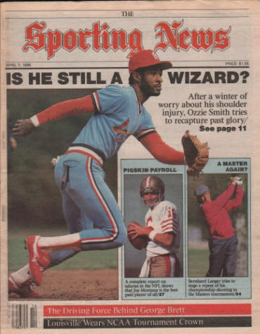 The Sporting News - Ozzie Smith