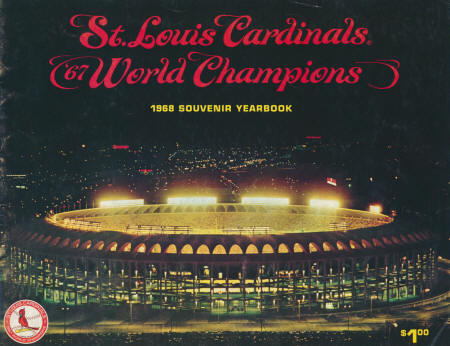 1968 St. Louis Cardinals Yearbook