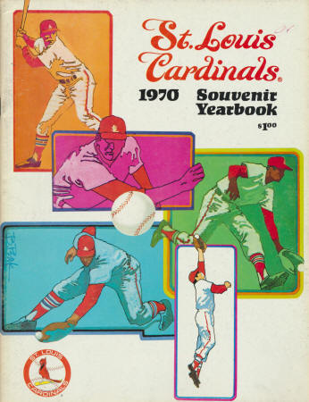 1970 St. Louis Cardinals Yearbook