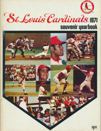 1971 St. Louis Cardinals Yearbook