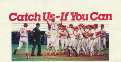 St. Louis Cardinals - 1984 Schedule front cover