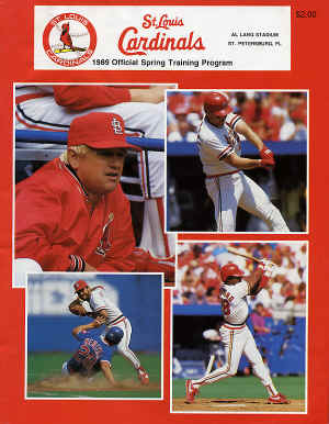 St. Louis Cardinals - 1989 Official Spring Training Program
