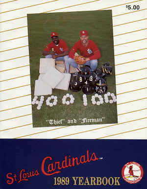 1989 St. Louis Cardinals Yearbook