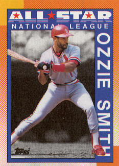 #400 1990 Topps NL All-Star 1989 Triples Leaders