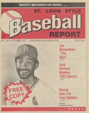 1991 St. Louis Style Baseball Report - Ozzie Smith
