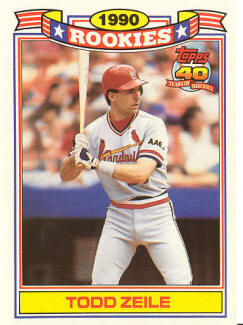 1990 St. Louis Cardinals Topps Rookies - Todd Zeile