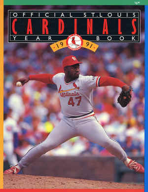 1991 St. Louis Cardinals Offical Yearbook