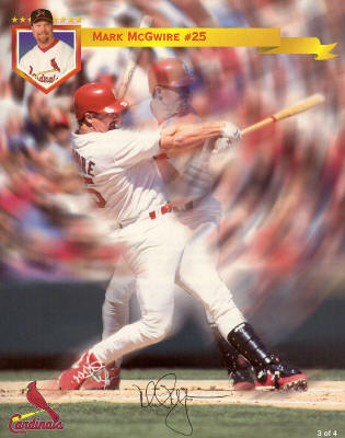 St. Louis Cardinals - Mark McGwire #25