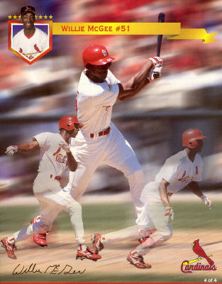 St. Louis Cardinals - 1998 Willie McGee #51