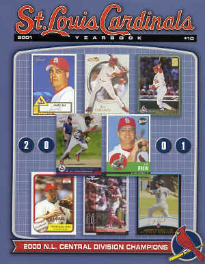 2001 St. Louis Cardinals Official Yearbook