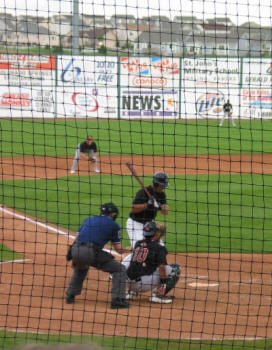 Swawn Garrett - SkySox Stadium, Colorado Springs, CO - 2004
