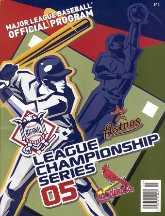 2005 National League Championship Series - St. Louis Cardinals & Houston Astros