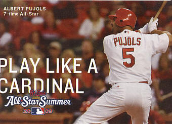 2009 St. Louis Cardinals Pocket Schedule