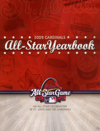 2009 St. Louis Cardinals Official Yearbook