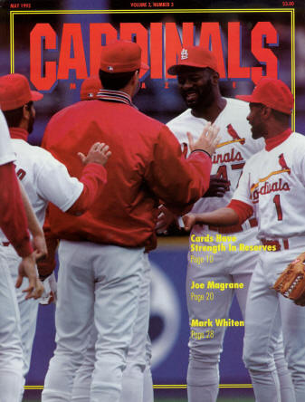 St. Louis Cardinals Gameday Magazine - 1993 #3