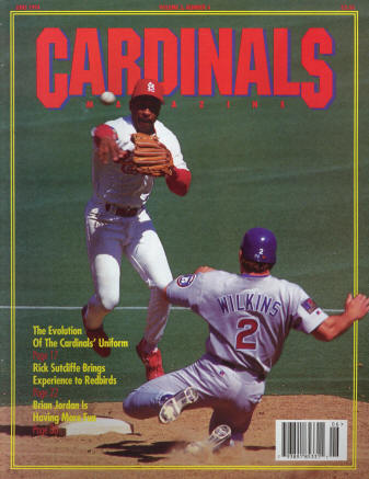 St. Louis Cardinals Gameday Magazine - 1994 #4