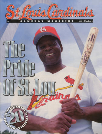 1999 St Louis Cardinals GameDay Magazine Issue #5