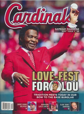 2016 St Louis Cardinals GameDay Magazine Issue #2