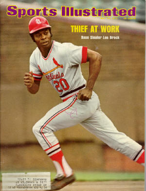 July 1974 Sports Illustrated - Lou Brock