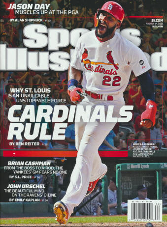 Sports Illustrated - 8/14/15 - Jason Heyworth