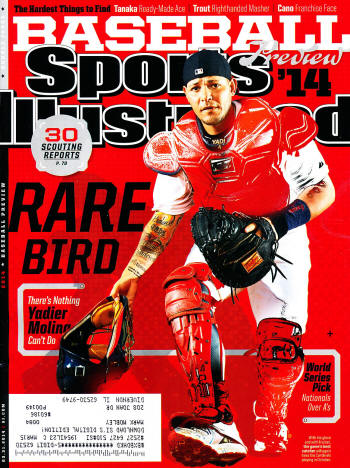Sports Illustrated - 3/31/14 - Yadier Molina