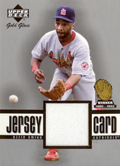 GG-OS 2001 Upper Deck Gold Glove