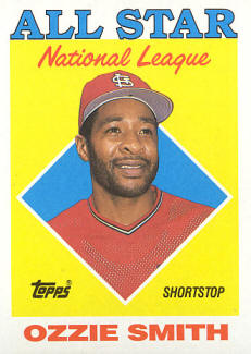 #400 1988 Topps NL All-Star 1987 Stolen Base Leaders