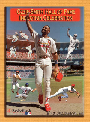 St. Louis Cardinals - 2002 Hall of Fame Induction Celebration - Ozzie Smith
