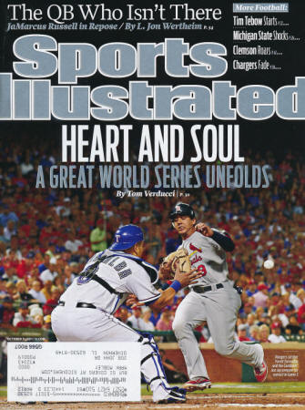 St. Louis Cardinals - Sports Illustrated - 10/31/11