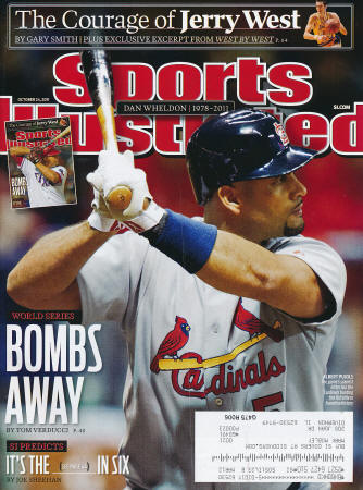 St. Louis Cardinals - Sports Illustrated - 11/7/11