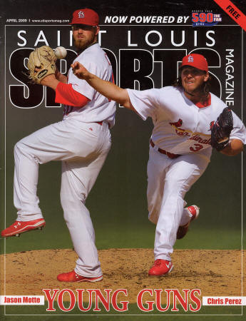 2009 St. Louis Sports Magazine - Motte, Perez