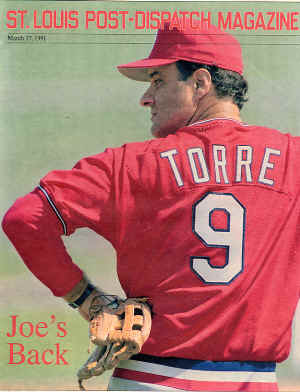 1991 St. Louis Post-Dispatch Magazine - Joe Torre